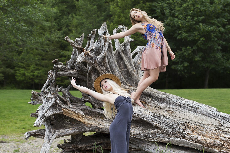 Michelle Moore photographs for Free People at Rattlesnake Lake Seattle Washington