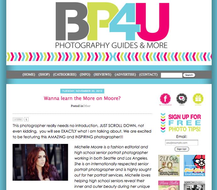 BP4U Michelle Moore Interview
