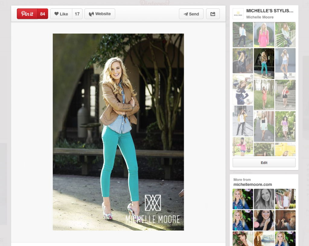 Optimize Images for Uploading to Pinterest article by Michelle Moore