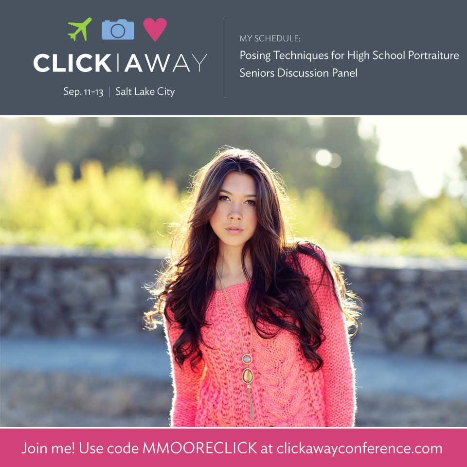 Michelle Moore steaming Live from Click Away 2014