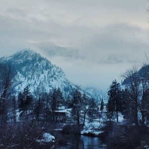 Leavenworth Washington Snowy