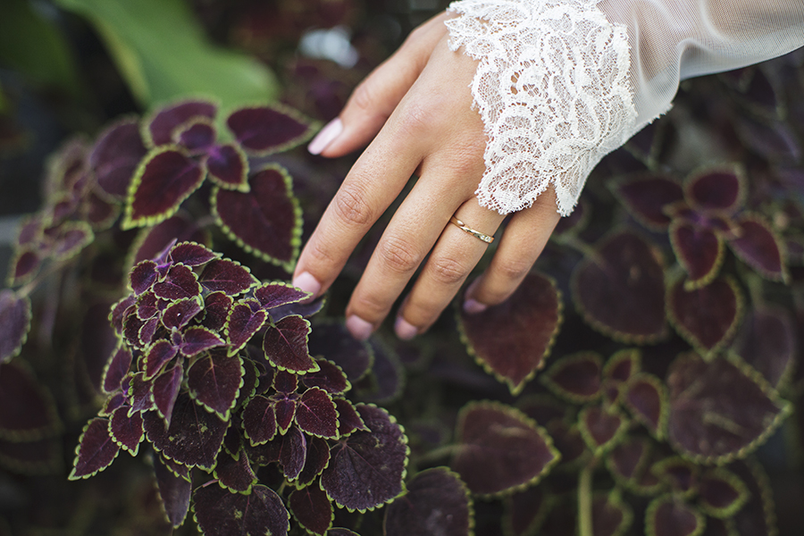 LilyEmmy Jewelry Lookbook by Seattle Photographer Michelle Moore at Volunteer Park Conservatory