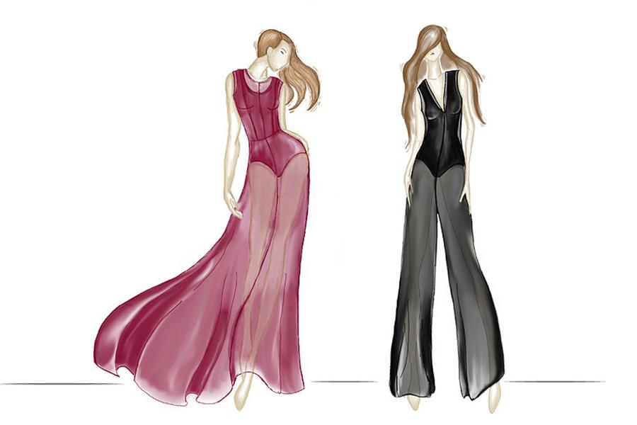 Trilogy Clothing Brand Sketch by Jordan Elizabeth Rick