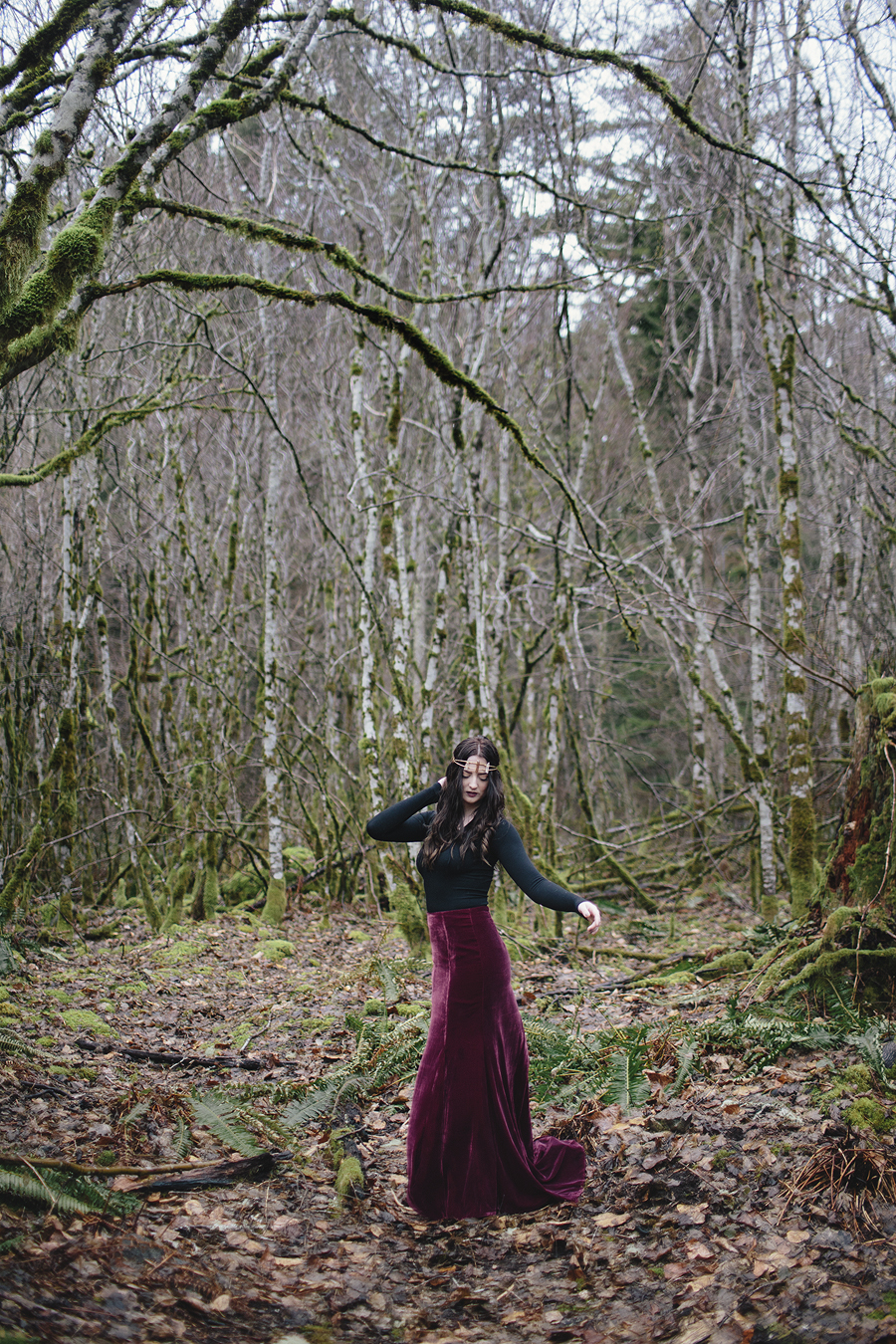Amanda Markley Rattlesnake Lake Photoshoot