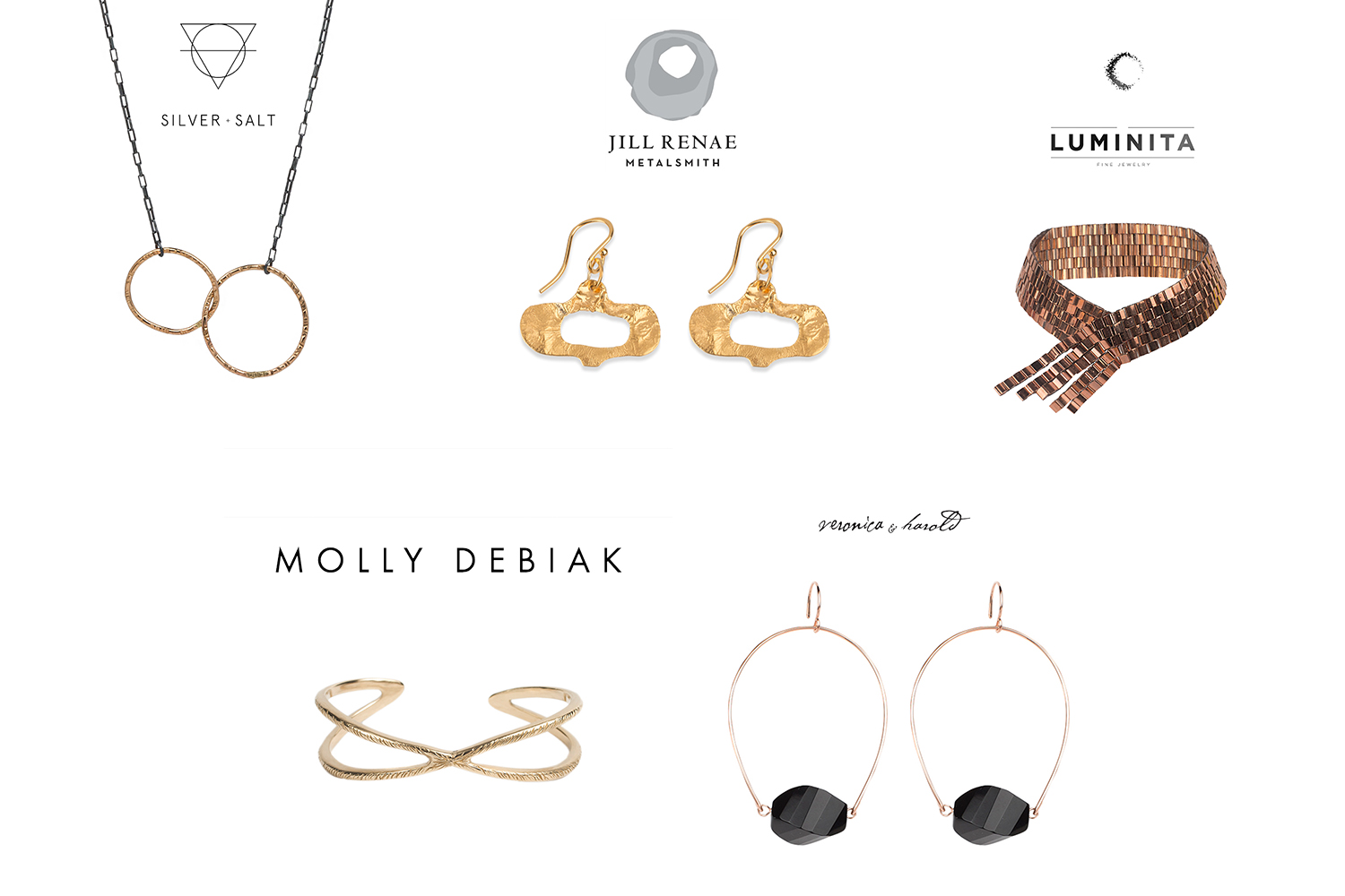 Michelle Moore Seattle Jewelry Product Photographer on White