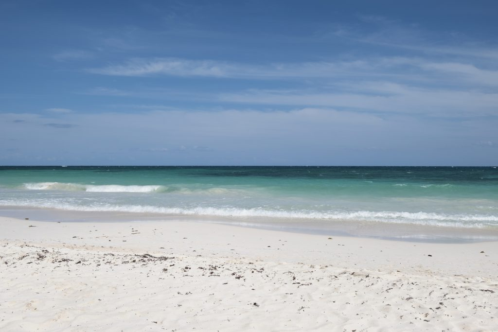 Beach front in Tulum Mexico Review and What to Do by Travel Blogger Michelle Moore