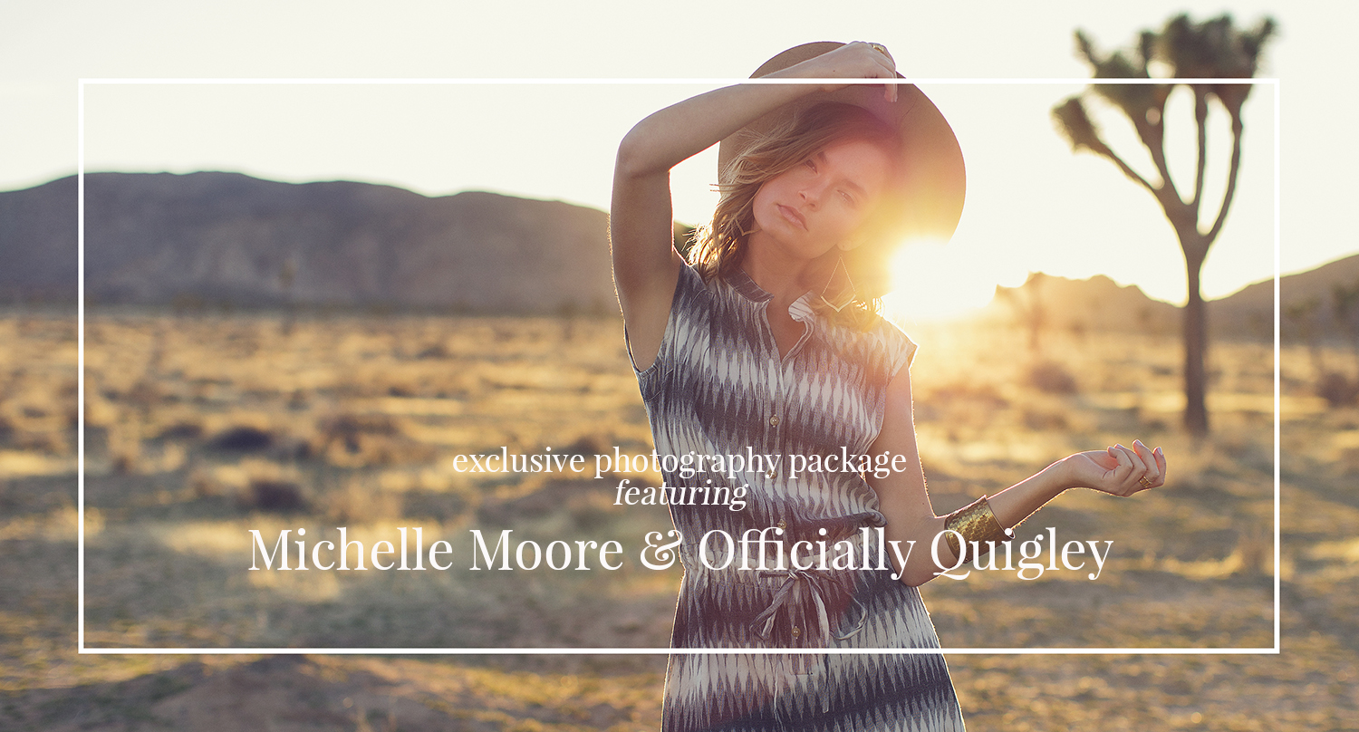 Michelle Moore and Officially Quigley Collaboration