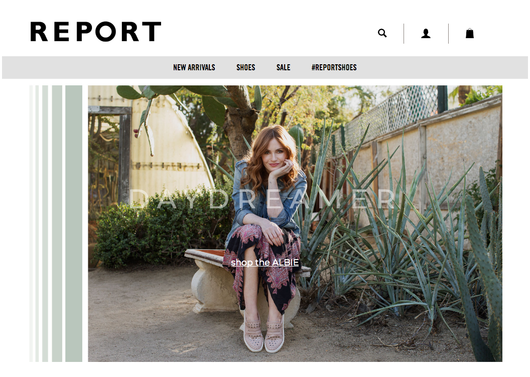 Report Spring 18 campaign by Seattle photographer Michelle Moore