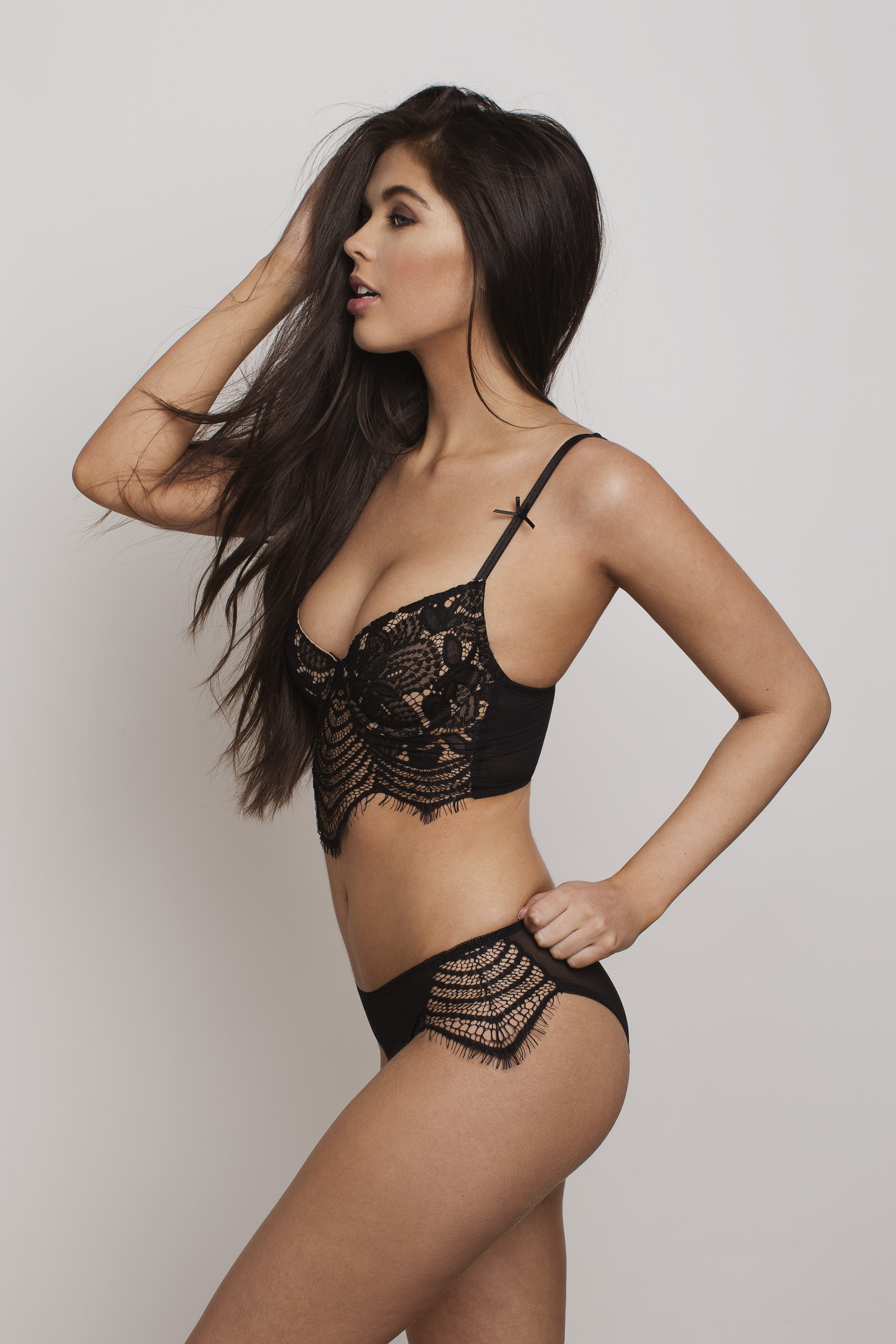 Wylde Lingerie e-commerce fashion photography in Seattle