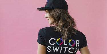 Color Switch – Influencer Campaign with Rachel Cook