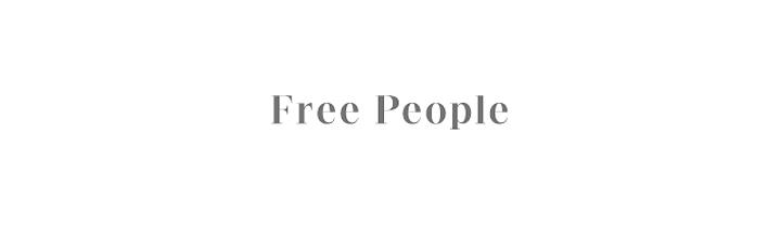 Free People – WW Seymour Conservatory